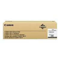 Toner 0258B002 pour CANON CLC 4040 Tambour Noir Type CEXV16/17, 60 000 copies