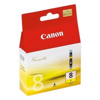 Cartouche d'Encre 8 CLI8Y Jaune (Yellow),