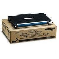 Toner 106R00676 pour XEROX Phaser 6100 Toner Cyan, 2 000 copies