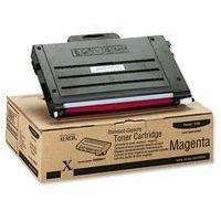 Toner 106R00677 pour XEROX Phaser 6100 Toner Magenta, 2 000 copies