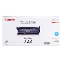 Toner 2643B002 pour CANON I-Sensys LBP 7750CDN Toner Cyan Type 723, 8 500 copies