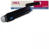 Toner 41012308 pour OKI Okipage 8C Toner Cyan, 3 000 copies