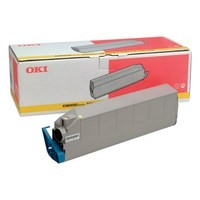 Toner 41515209 pour OKI C9200 Toner Yellow, 15 000 copies