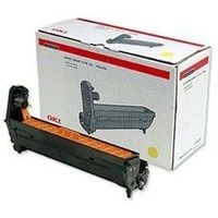 Toner 42126605 pour OKI C5300N Tambour Yellow, 17 000 copies