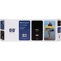 Cartouche C4940A pour HP Designjet 5500PS Cartouche d'Encre UV Noire n°83, 680 ml