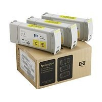 Pack de 3 Cartouches d'Encre Teintee Yellow n°81,