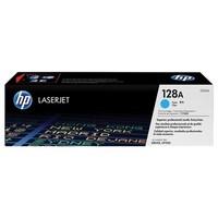 Toner CE321A pour HP Laserjet Pro CP1525 Toner Cyan Type 128A, 1 300 copies