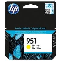 Cartouche CN052AE pour HP Officejet Pro 276DW MFP Cartouche d'Encre Yellow n°951, 700 copies