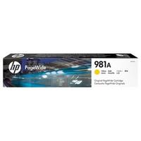 Cartouche J3M70A pour HP PageWide Entreprise Color 586F Cartouche d'Encre Yellow n°981A, 6 000 copies