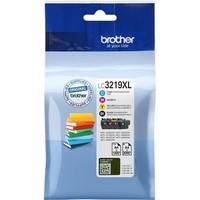 Cartouche LC3219XLVAL pour BROTHER MFC J 5930DW Pack de 4 Cartouches d'Encre XL: 1 Noire 1 Cyan 1 Magenta 1 Yellow, 1 x 3000 copies + 3 x 1 500 copies