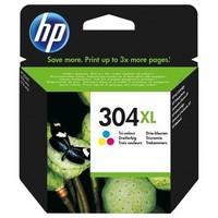 Cartouche N9K07AE pour HP Deskjet 3720 Cartouche d'Encre Couleur n°304 XL, 7 ml / 300 copies