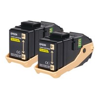 Pack de 2 Toners Yellow,