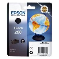 Cartouche T266140 pour EPSON WorkForce 100W Cartouche d'Encre Noire (Globe)