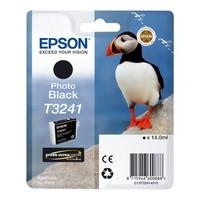 Cartouche T324140 pour EPSON SureColor P400 Cartouche d'Encre Photo Noir, 14 ml