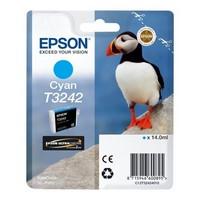 Cartouche T324240 pour EPSON SureColor SC P400 Cartouche d'Encre Cyan UltraChrome, 14 ml