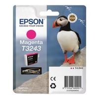 Cartouche T324340 pour EPSON SureColor P400 Cartouche d'Encre Magenta UltraChrome, 14 ml