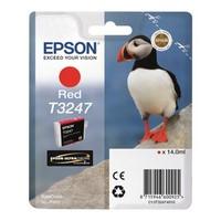 Cartouche T324740 pour EPSON SureColor SC P400 Cartouche d'Encre Rouge UltraChrome, 14 ml