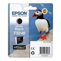 Cartouche T324840 pour EPSON SureColor SC P400 Cartouche d'Encre Noir Mat UltraChrome, 14 ml