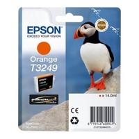 Cartouche T324940 pour EPSON SureColor P400 Cartouche d'Encre Orange UltraChrome, 14 ml
