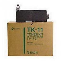 Toner TK11 pour KYOCERA MITA FS 400 Toner Noir, 1 200 copies