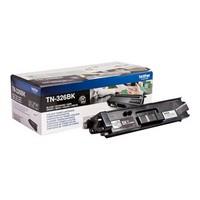 Toner TN326BK pour BROTHER HL L8350CDW Toner Noir, 4 000 copies