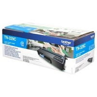 Toner TN329C pour BROTHER DCP L8450CDW Toner Cyan, 6 000 copies