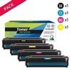 Toner laser générique 716  Noir et couleurs (P4KA1515NCMY)