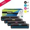 Toner laser générique 718  Noir et couleurs (P4KA2025NCMY)