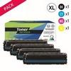 Toner laser générique 201X  Noir et couleurs (P4KA252NCMYX)