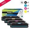 Toner laser générique 203X  Noir et couleurs (P4KA280NCMYX)