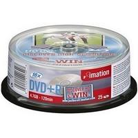 Boite de 25 DVD+R 16 x 4,7Go,