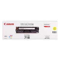 Toner Yellow Type 718,