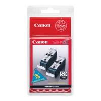 Pack de 2 Cartouches d'Encre Noire n°520 PGI520BK,