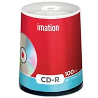 Boite de 100 CD-R 80 min 52 x 700MB,