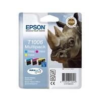 Pack de 3 Cartouches d'Encre Rhinocéros<br>1 Cyan<br>1 Magenta<br>1 Yellow,